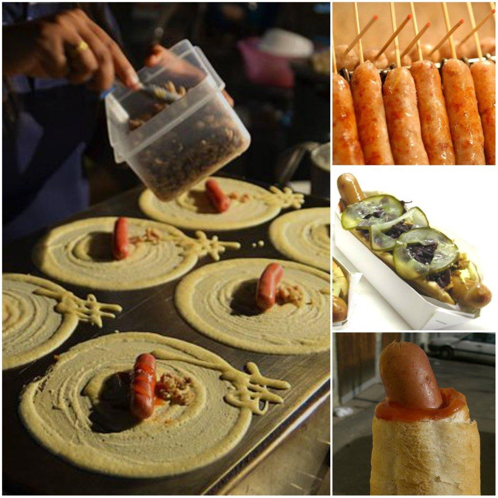 Hot dog to kwintesencja prostoty. Bułka z parówką lub kiełbaską w środku, która zrobiła furorę na całym świecie. Ale, choć pomysł na przekąskę był banalny, za hot dogiem stoi długa historia i duża wolność interpretacji. Choć nie zawsze apetyczne, zobacz, jak wyglądają hot dogi w różnych krajach świata. Hot dog, a właściwie parówka narodziła się najprawdopodobniej we Frankfurcie nad Menem w 1487 roku w postaci frankfurterki. Według innej wersji powstała później, około 1600 roku za sprawą pewnego niemieckiego rzeźnika, który nadał jej nazwę dachshund, czyli jamnik. Jednak punkt zwrotny w karierze hot dogów związany był z masową emigracją z Europy do USA pod koniec XIX wieku. Pierwsza budka z hot dogami powstała na Coney Island. I choć potomkowie imigrantów kłócą się, kto przywiózł ze sobą pomysł na hot doga, to ze względu na długą tradycję jedzenia kiełbas z pieczywem i pochodzenia parówki, zasługę należałoby przyznać niemieckiej mniejszości. W Polsce natomiast hot dog pojawił się w latach 80-tych jako 'bułka z farszem'. Oprócz parówki w bułce była też masa cebulowo-pieczarkowa. Hot dogi zaczęły przypominać te dzisiejsze wraz ze zmianą ustroju i końcem reglamentacji na produkty mięsne. Za to w Stanach Zjednoczonych, istnieje Polish Hot Dog, który zamiast klasycznej parówki ma w środku polską kiełbasę. A skąd nazwa? Legenda głosi, że powstała w 1901 roku na polach do polo w Nowym Jorku. Zdesperowany właściciel stoiska z lodami i oranżadą, którego biznes przynosił straty, polecił wszystkim pracownikom kupić parówki i bułki. Gorące, prosto z garów z parującą wodą sprzedawcy reklamowali jako 'red hot dachshund sausages'. Rysownik, który miał produktowi nadać odpowiednią oprawę graficzną, nie był pewien jak dachshunda napisać, w związku z czym został mu sam gorący piesek. Mimo, że historia nigdy nie znalazła potwierdzenia, wielu wielbicieli hot dogów wierzy, że tak właśnie było. Niech w takim razie tak już zostanie. Bardzo bliskim krewnym hot doga, jest tak zwany corn dog-