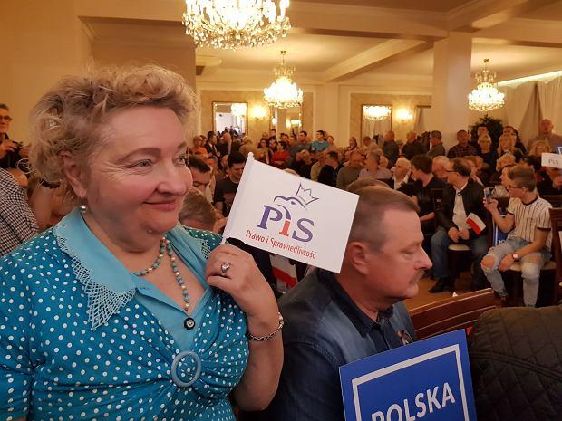 Spotkanie z Jarosławem Kaczyńskim w Skarżysku-Kamiennej