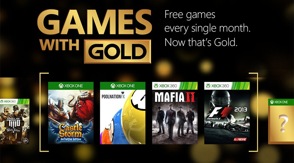 Xbox Games with Gold - maj 2015