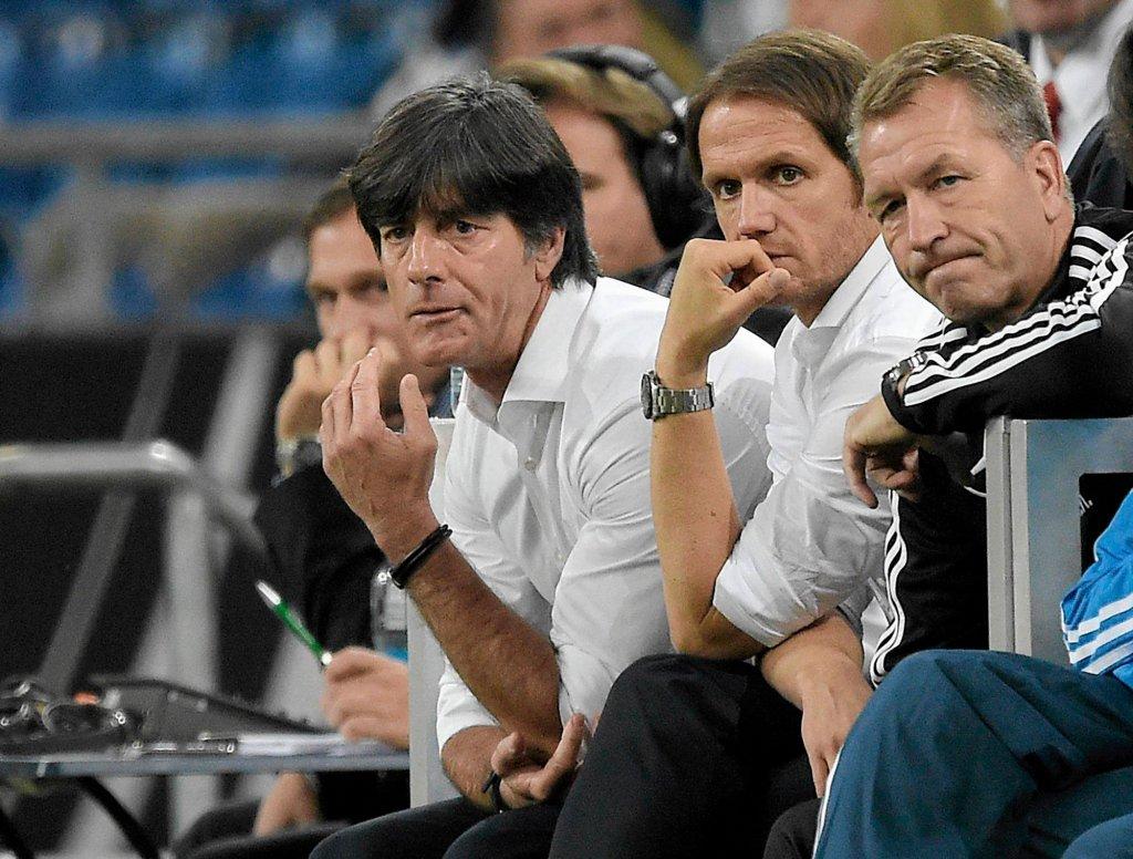 Pierwszy z lewej: Joachim Loew
