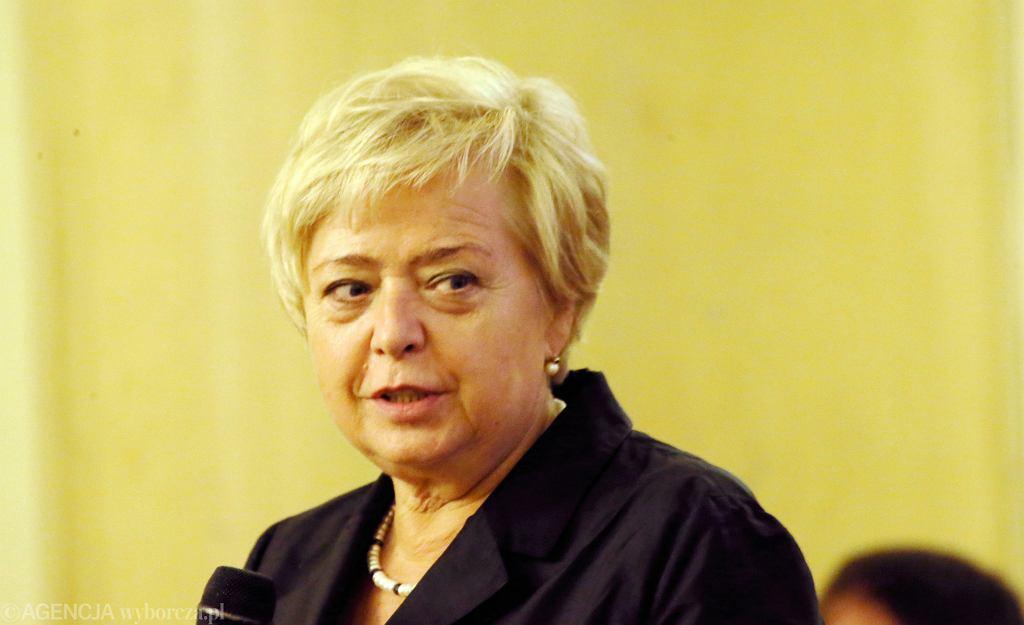 I prezes Sądu Najwyższego prof. Małgorzata Gersdorf