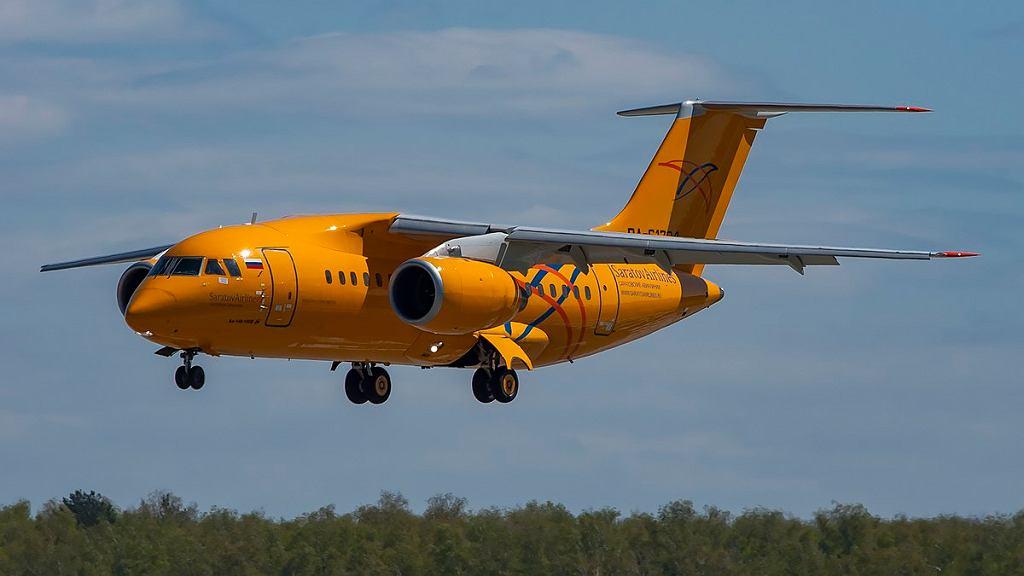 AN-148, który rozbił się w katastrofie