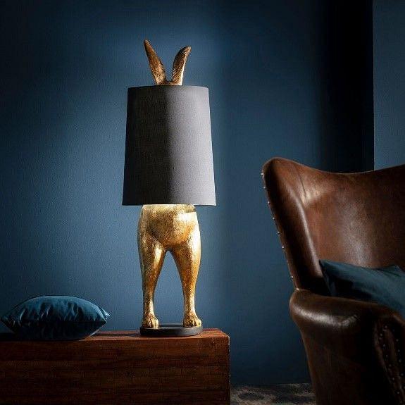 Lampa w kształcie królika