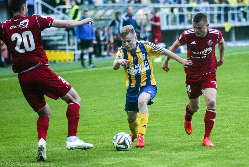 Grzegorz Tomasiewicz zagrał bardzo dobry mecz w 1/16 Pucharu Polski