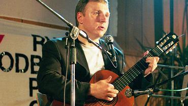Jacek Kurski podczas I Antykomunistycznego Festiwalu Piosenki Politycznej