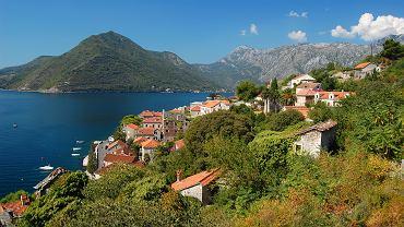 Czarnogóra. Zatoka Kotorska.