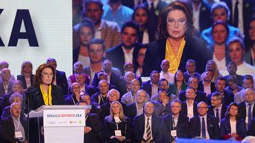 Małgorzata Kidawa-Błońska na konwencji KO