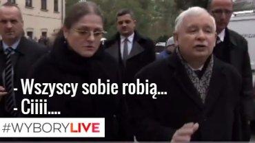 Krystyna Pawłowicz i Jarosław Kaczyński
