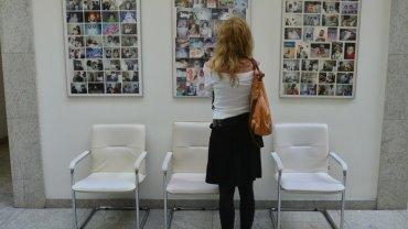 Kobieta w jednej z klinik leczenia niepłodności