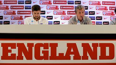 Steven Gerrard i Roy Hodgson