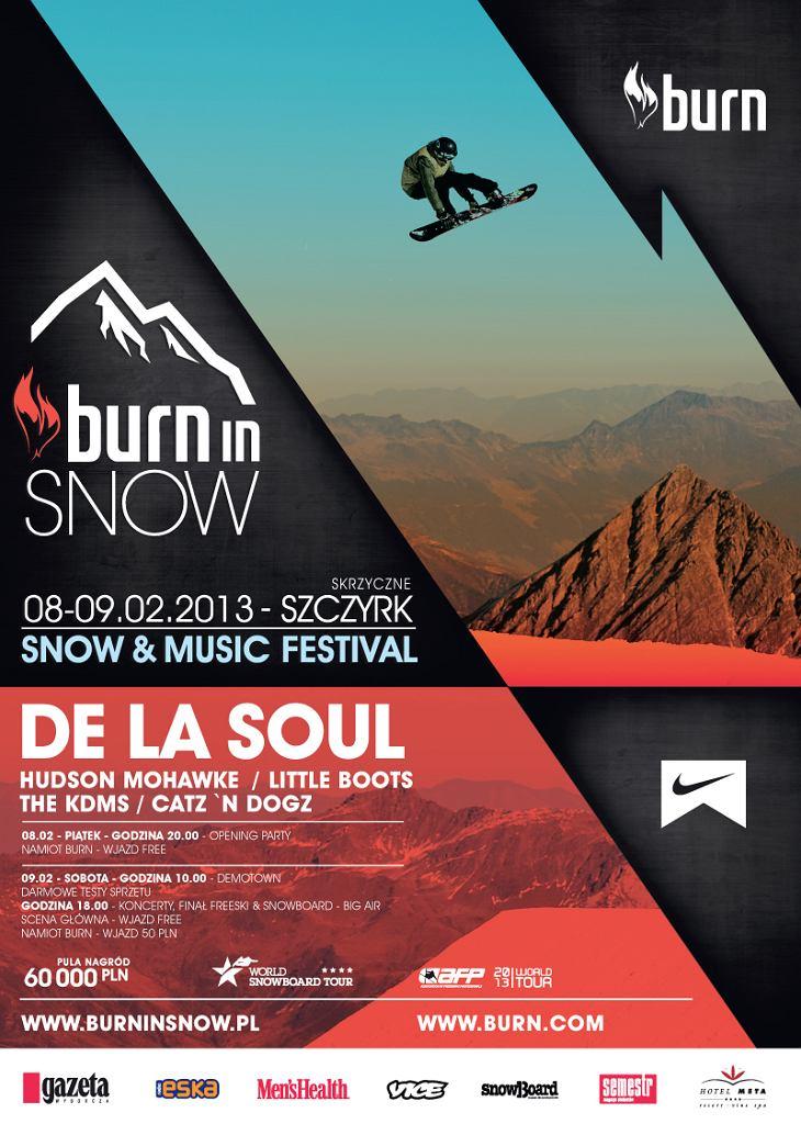 Burn in Snow