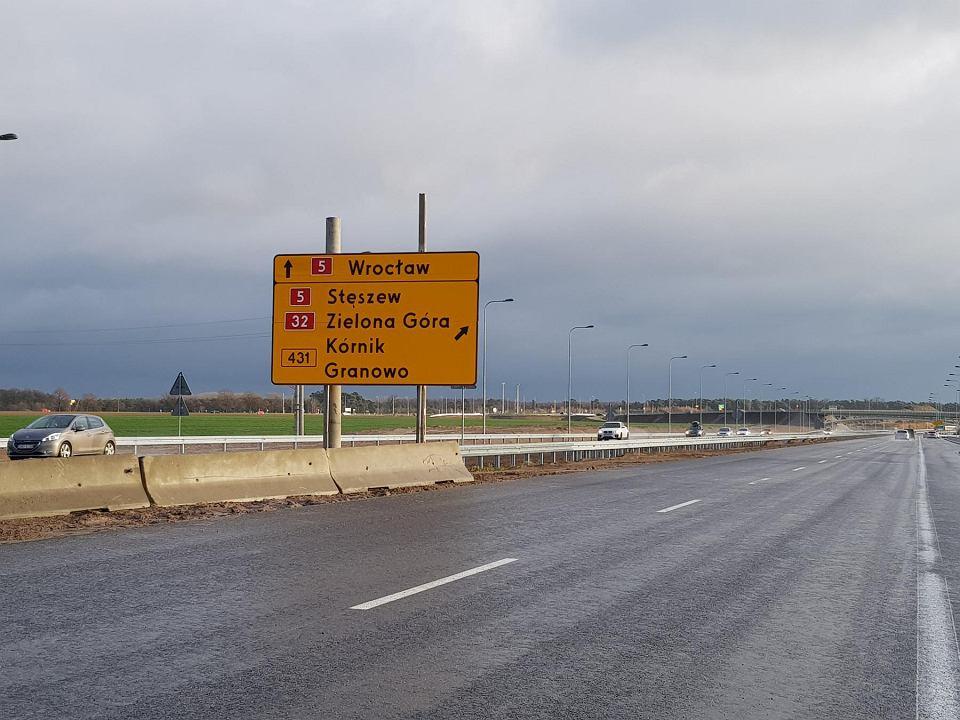 Droga S5. Odcinek Poznań - Wronczyn