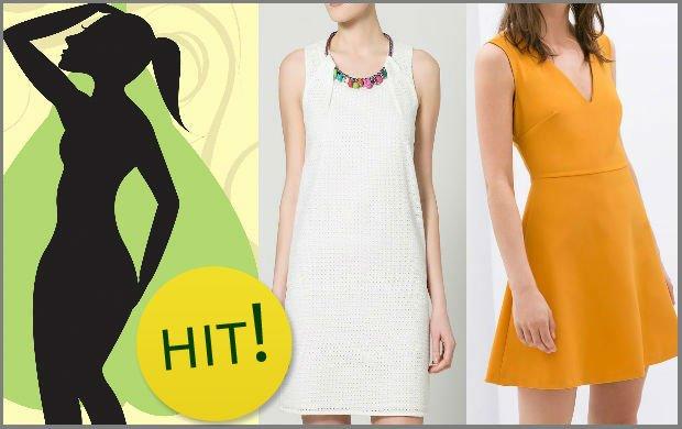 50d0cea5fcf350 Kobiecy poradnik: letnie sukienki dla figury typu 'gruszka' [4 różne fasony  + propozycje ze sklepów]