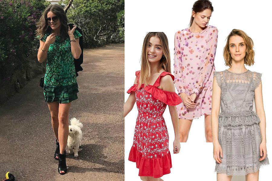 Letnie sukienki - sylwetka w stylu Edyty Herbuś