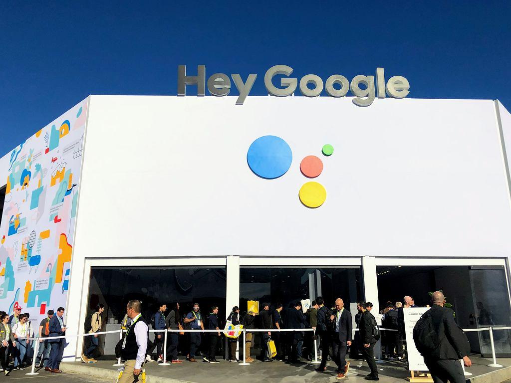 Google podczas targów CES 2019 zbudował dla Asystenta pokazową przestrzeń