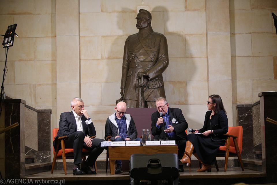 Debata 'Wokół Niepodległości'. Warszawa, Muzeum Narodowe, 20 stycznia 2019