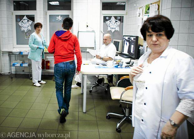 Ofiara sylwestrowej zabawy w pogotowiu, Łódź 31 grudnia 2011