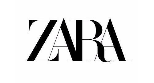 Zara - nowe logo
