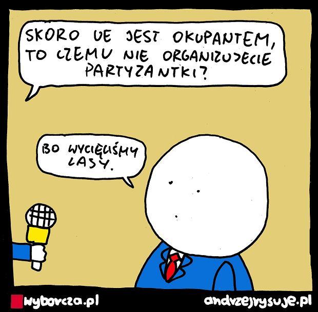 Andrzej Rysuje | PARTYZANTKA - Andrzej Rysuje, 14.09.2021 -