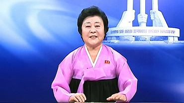 Ri Chun Hi - prezenterka z Korei Północnej