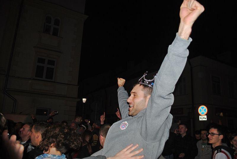 Tak świętował jeden z bohaterów Resovii - Grzegorz Kosok