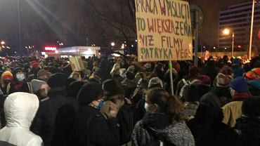Warsaw protest
