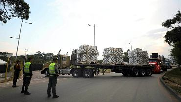 Amerykańska pomoc humanitarna dla Wenezueli