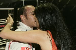 Nicole Scherzinger i Lewis Hamilton