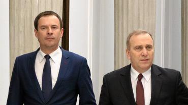Piotr Borys i Grzegorz Schetyna