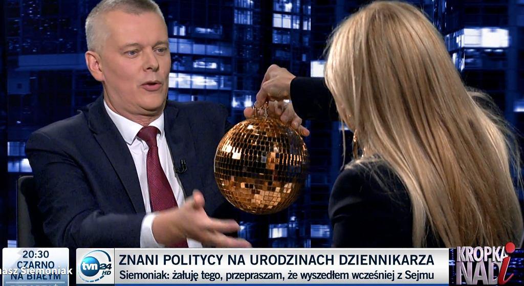 Tomasz Siemoniak w 'Kropce nad i'
