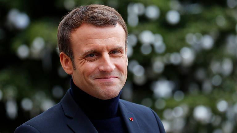 Emmanuel Macron/Fot. Francois Mori / AP Photo