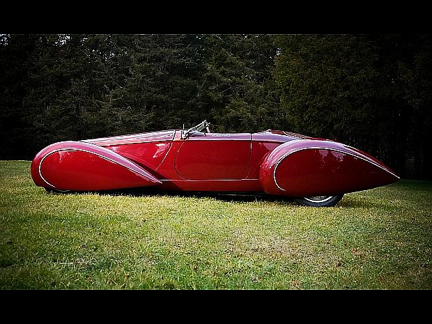"Deco Rides Boattail Speedster ""Pontoon Fender"""