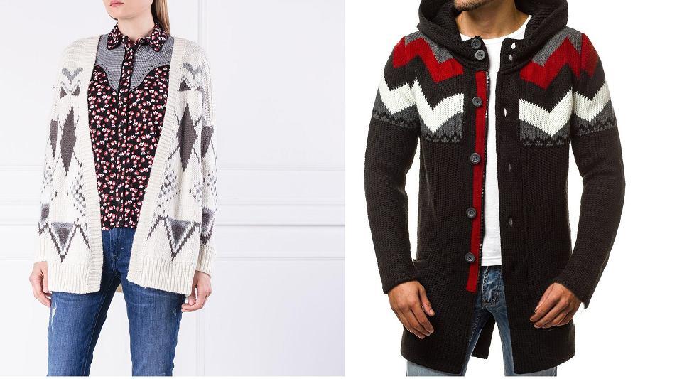 Swetry w górskim stylu
