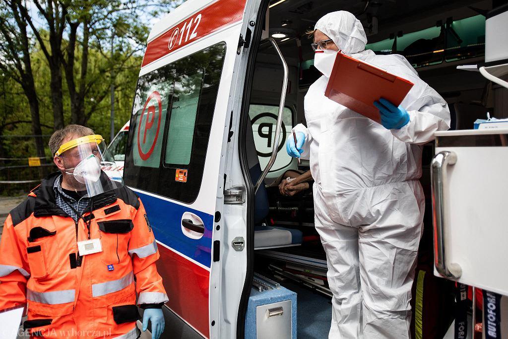 Pandemia koronawirusa. Samodzielny Publiczny Szpital Kliniczny Nr 4. Lublin, 3 czerwca 2020