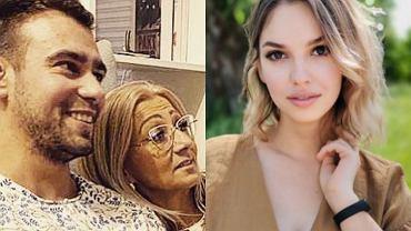 Łukasz z mamą, Oliwia