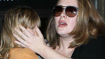Adele z synem