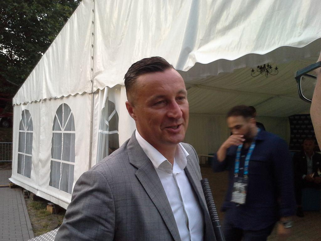 Opole 2018. Tomasz Hajto w amfiteatrze
