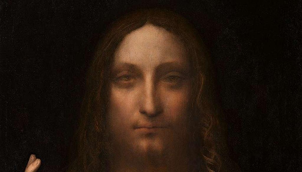 Leonardo da Vinci, Zbawiciel świata (Salvator Mundi), 1506?1513 (fragment)