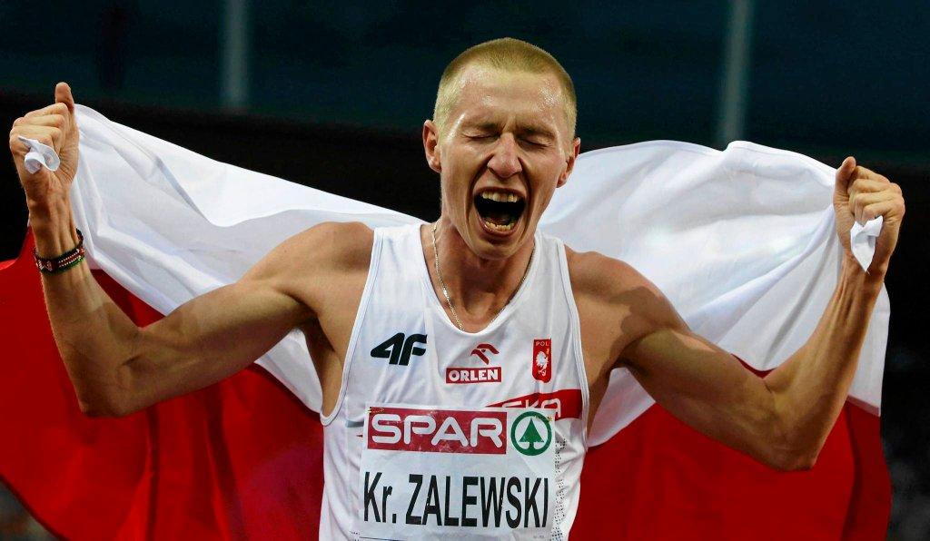 Krystian Zalewski zdobył brązowy medal ME na 3000 m z przeszkodami