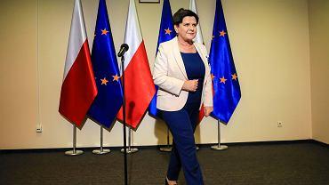 Kolejny dzień rozmów przedstawicieli rządu ze związkami zawodowymi nauczycieli, Warszawa 02.04.2019.