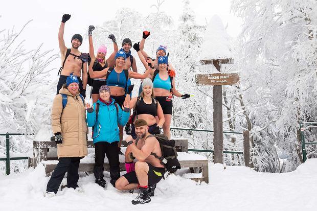 Grupa Fun Mors podczas wyprawy w Błędne Skały (fot: Dariusz Lesiczka)