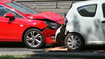 Wypadek na Trasie Łazienkowskiej