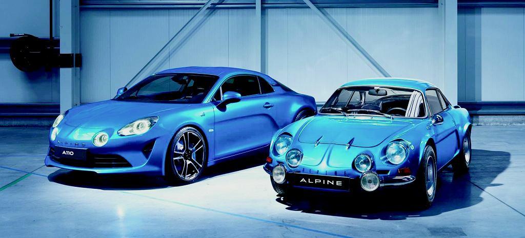 Alpine - nowe i stare wcielenie
