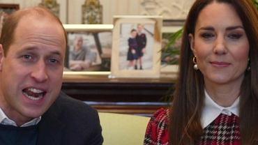 Kate i William podzielili się nowym nagraniem. Uwagę zwraca mowa ciała księżnej. Zachowywała się inaczej niż zwykle