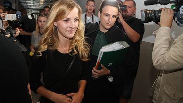 Maturzystka Kinga Jasiewicz w krakowskim sądzie w sierpniu 2015 r. Uważa, że podczas sprawdzania jej pracy egzaminatorzy popełnili błędy