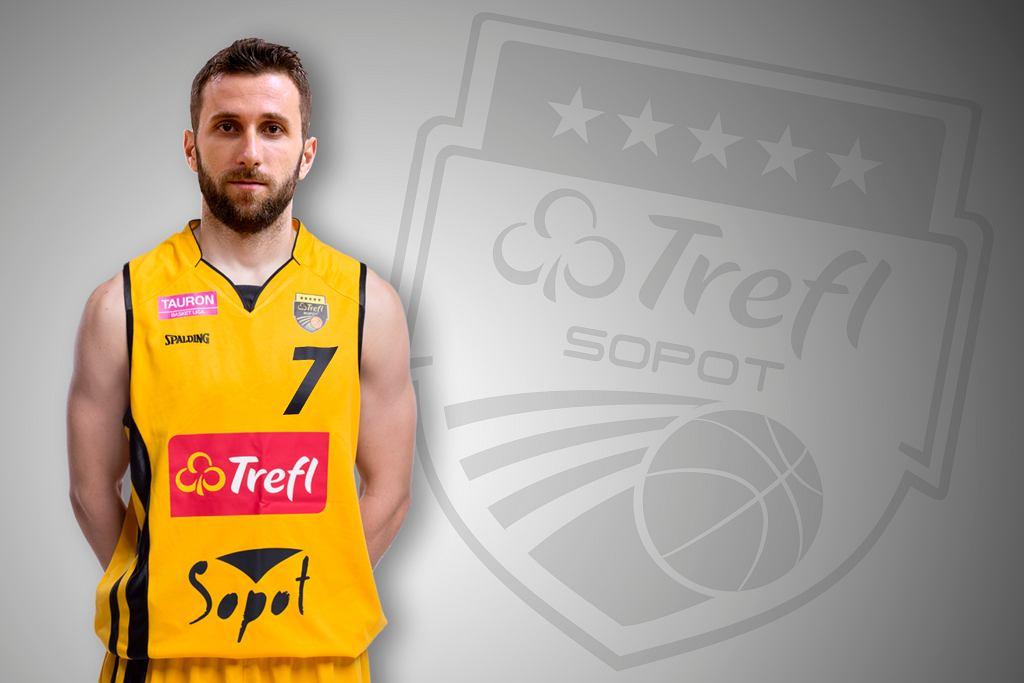 Nowy zawodnik Trefla Sopot Nikola Marković