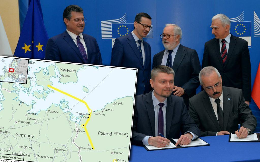 Podpisanie umowy na Baltic Pipe
