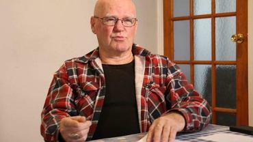 Doug Goulter, który był wykorzystywany w sierocińcu, a później w więzieniu.
