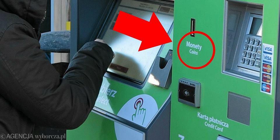 Olsztyński biletomat