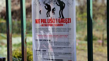Akcja przeciwko paleniu liści i gałęzi